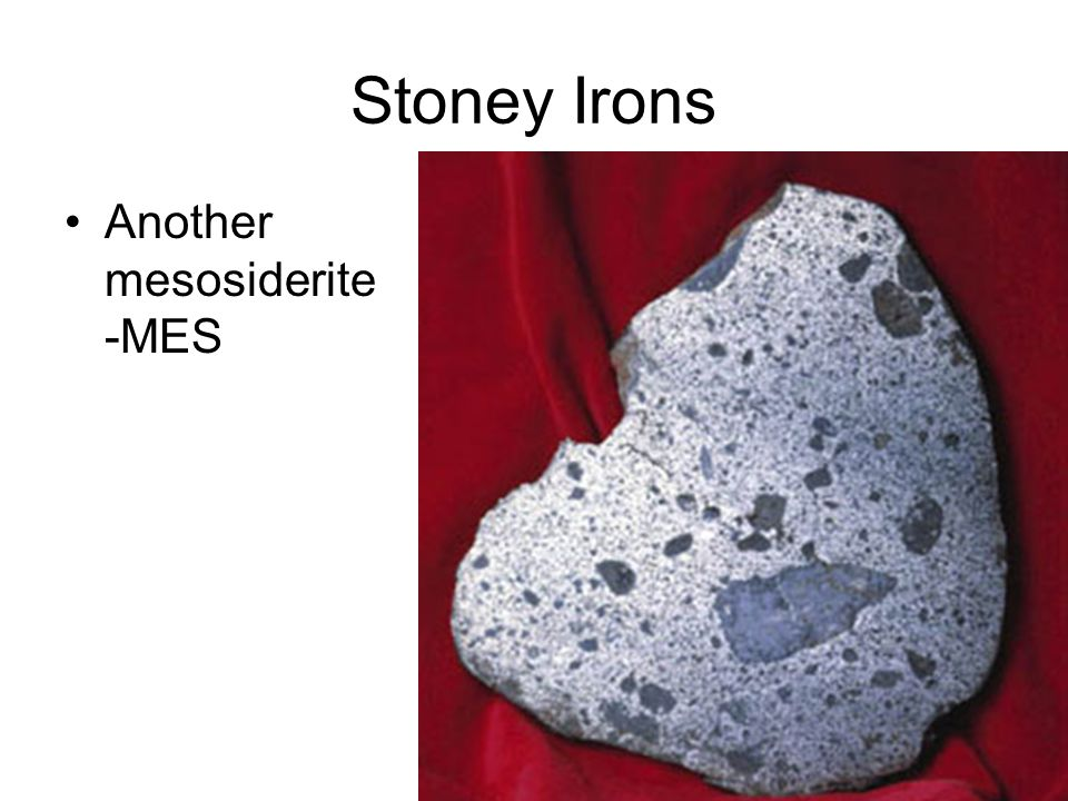 Stoney Irons Another mesosiderite -MES