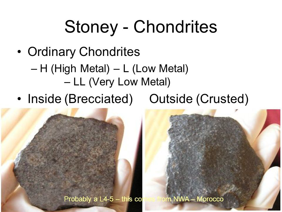 Stoney - Chondrites Ordinary Chondrites