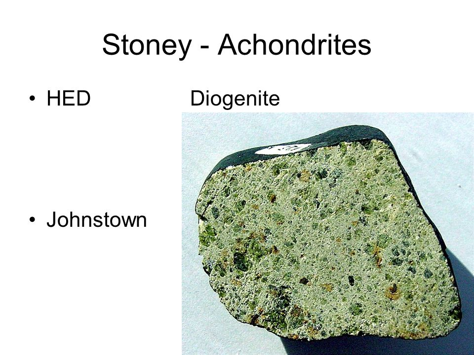 Stoney - Achondrites HED Diogenite Johnstown