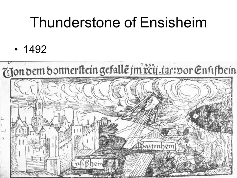 Thunderstone of Ensisheim