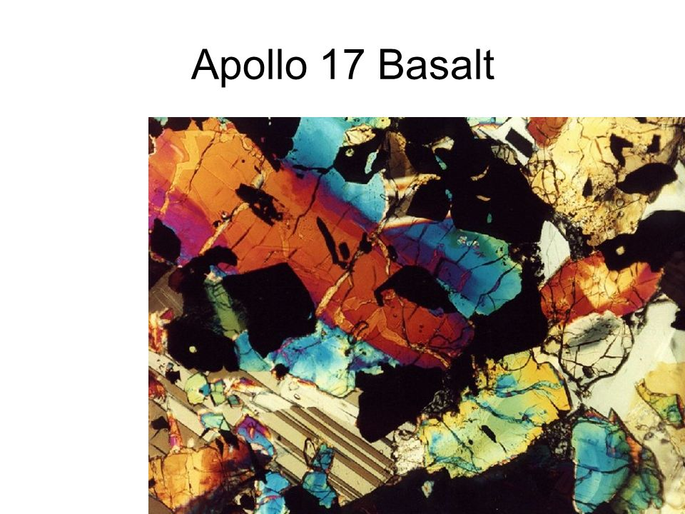 Apollo 17 Basalt