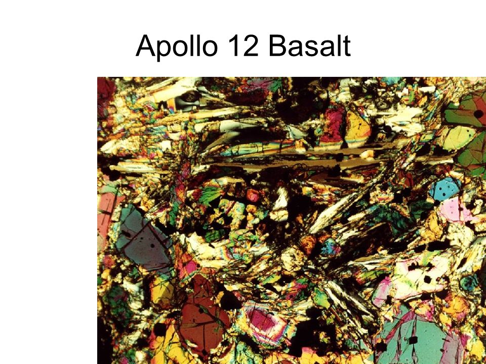 Apollo 12 Basalt