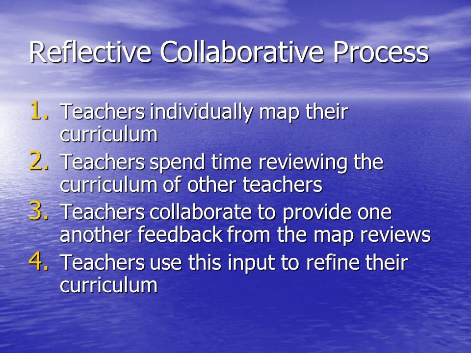 Reflective Collaborative Process