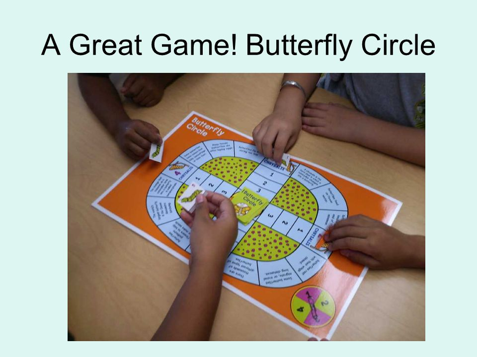 A Great Game! Butterfly Circle