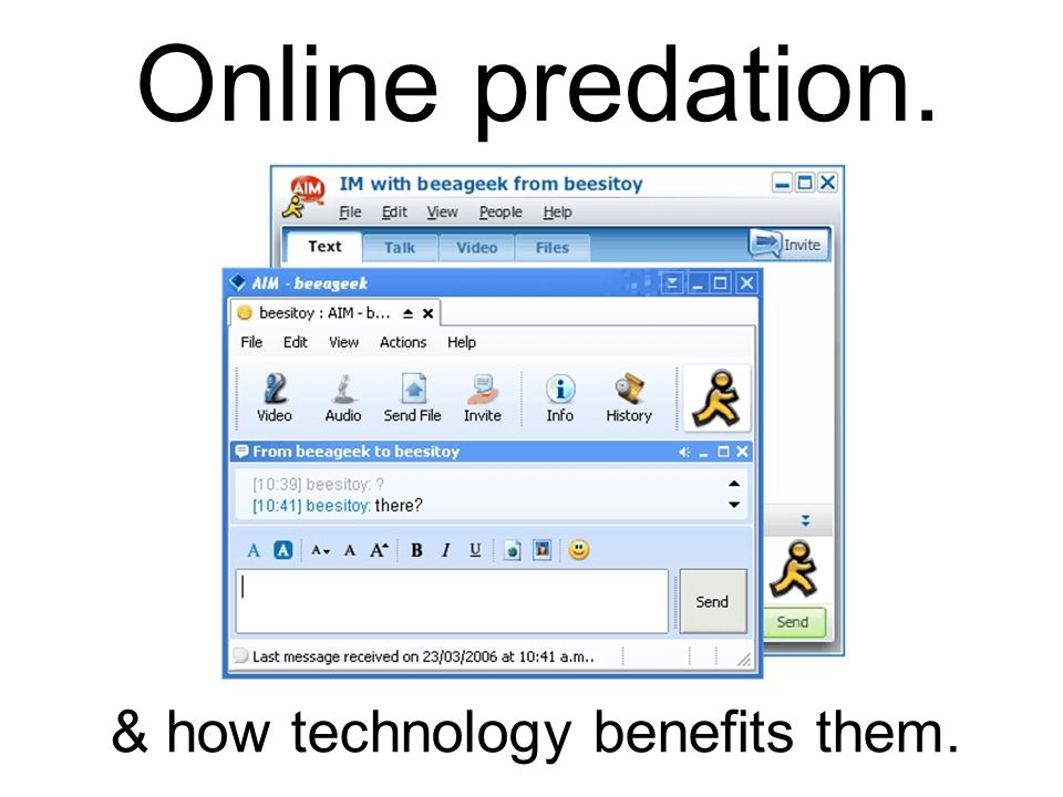 & how technology benefits them.