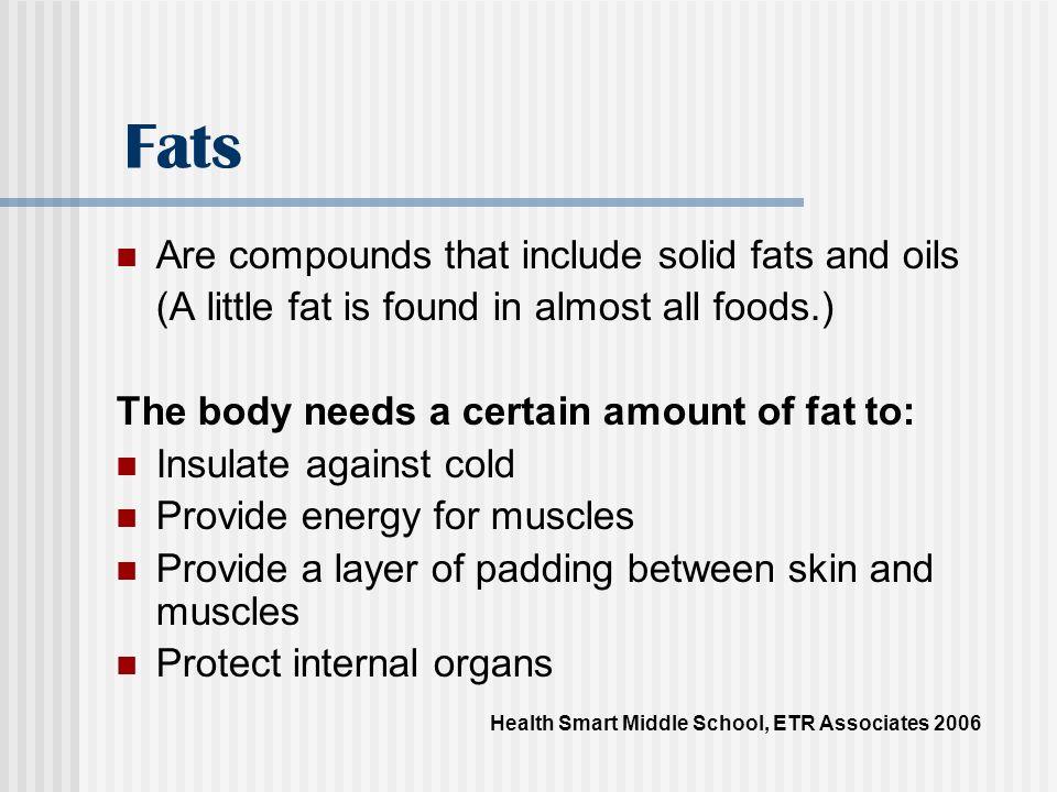 Fats Health Smart Middle School, ETR Associates 2006