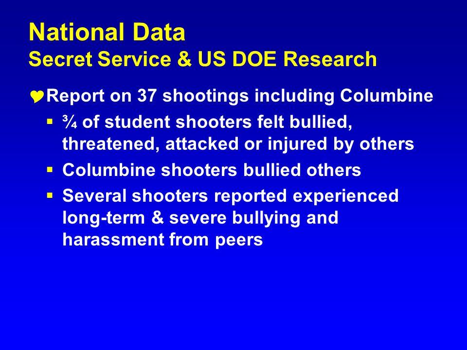 National Data Secret Service & US DOE Research
