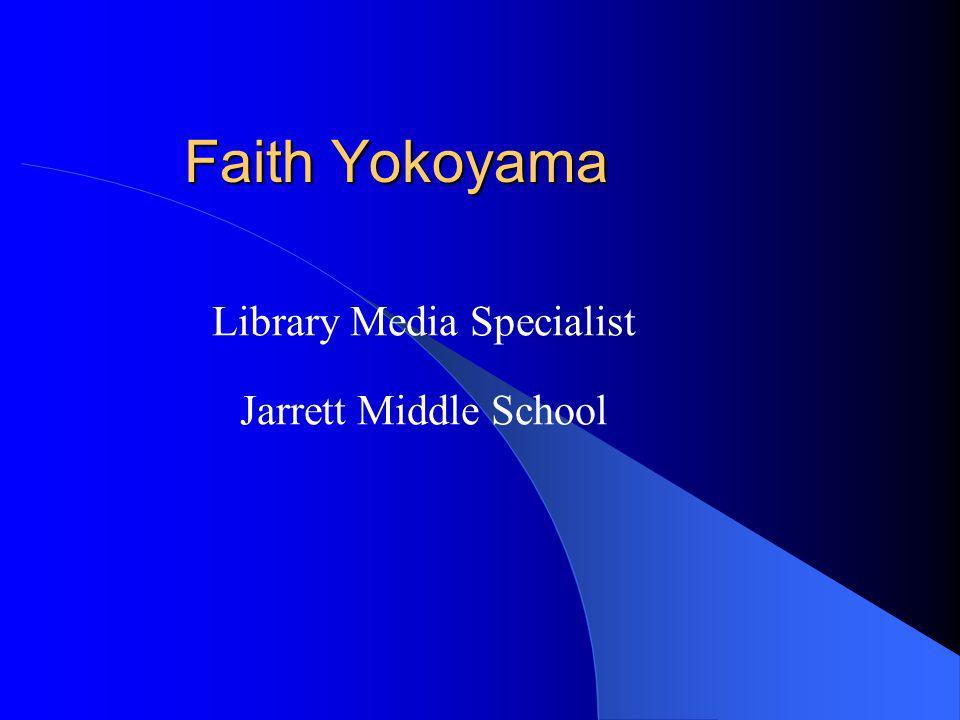 Library Media Specialist Jarrett Middle School