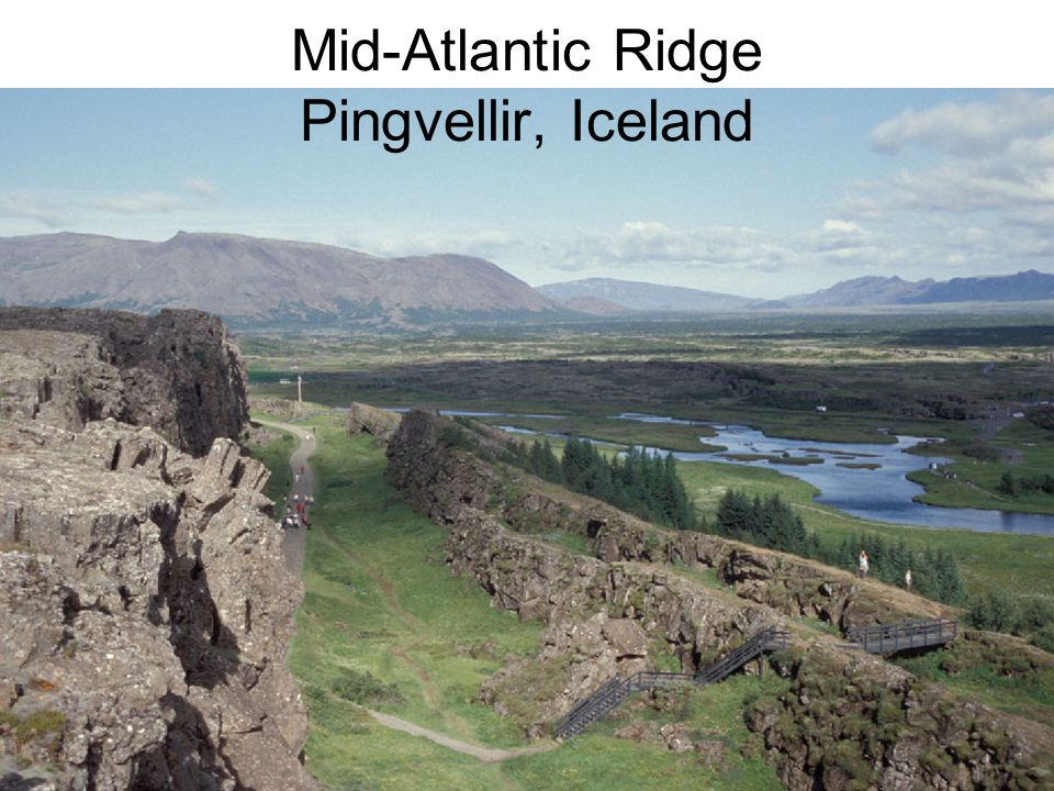 Mid-Atlantic Ridge Pingvellir, Iceland