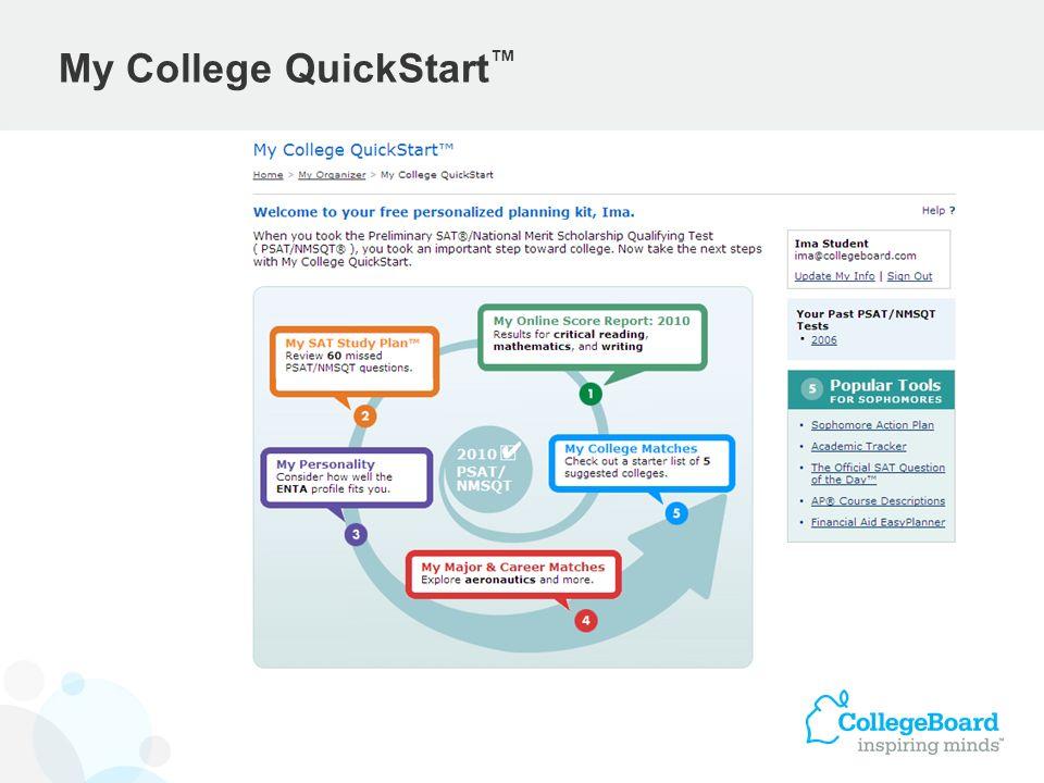 My College QuickStart™