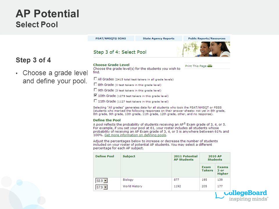 AP Potential Select Pool