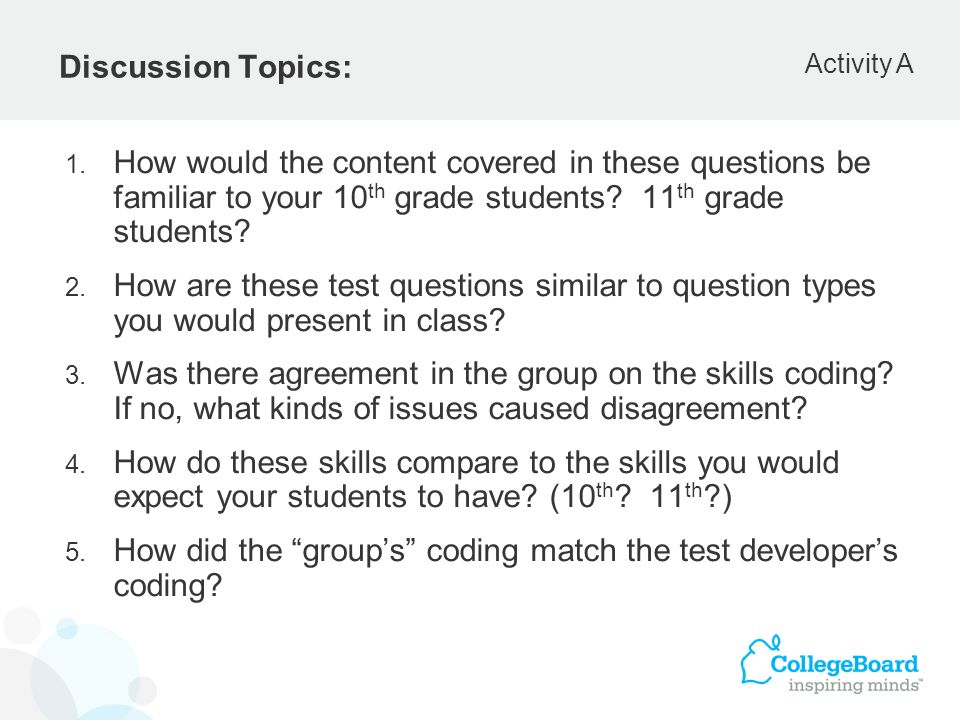 How did the group's coding match the test developer's coding