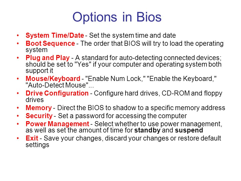 how to change date and time in bios