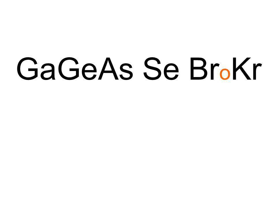 GaGeAs Se BroKr