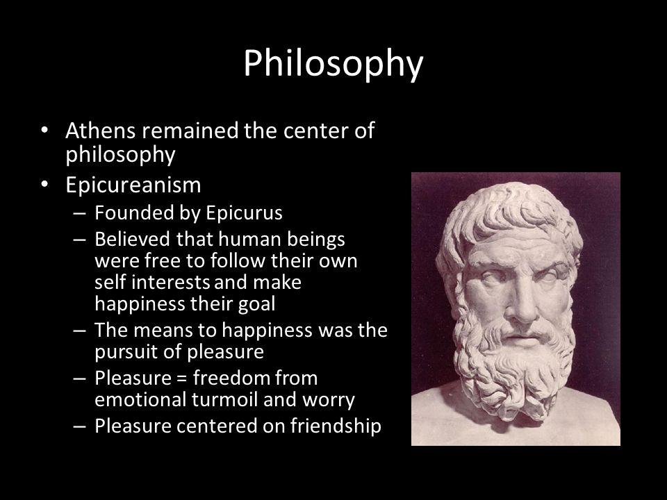 Epicurus essay pleasure