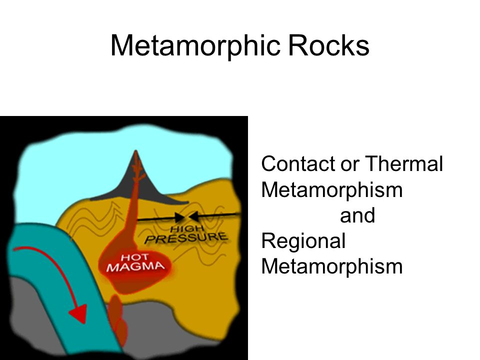 Metamorphic Rocks Contact or Thermal Metamorphism and