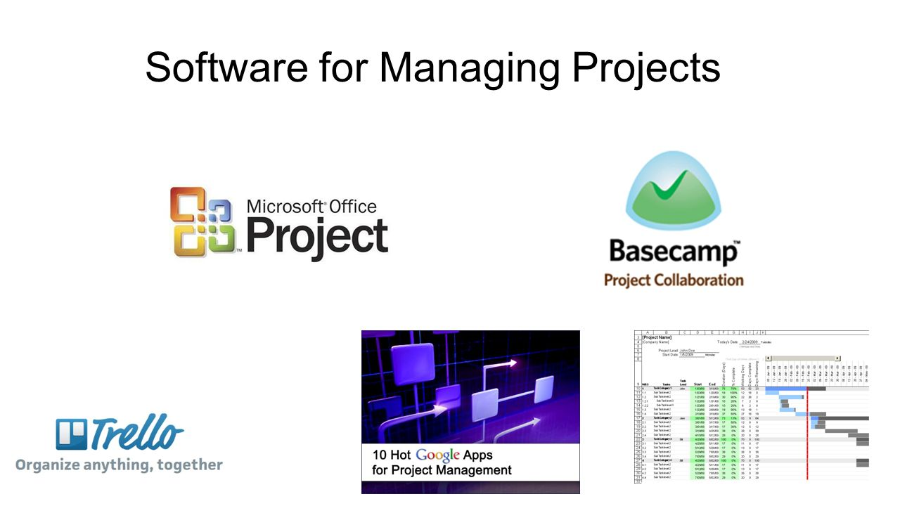 software in project management