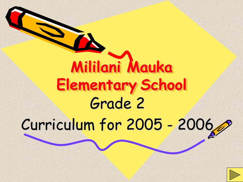 Mililani Mauka Elementary School