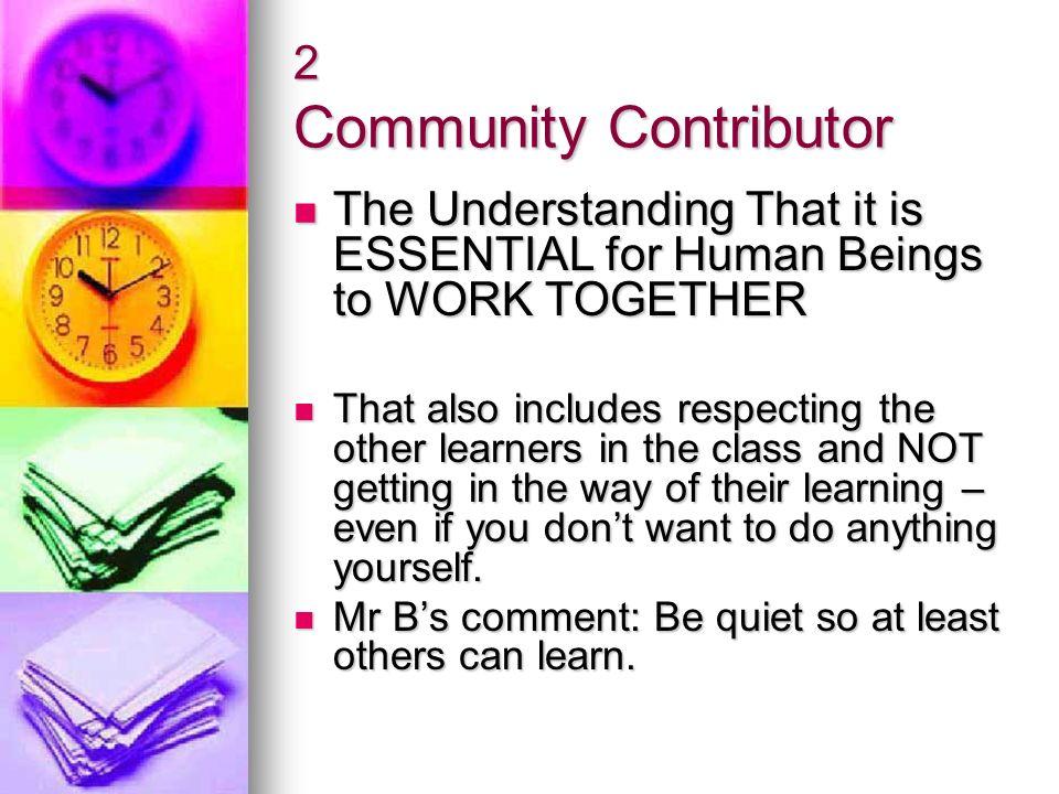 2 Community Contributor