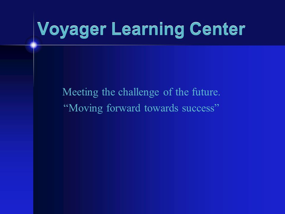 Voyager Learning Center