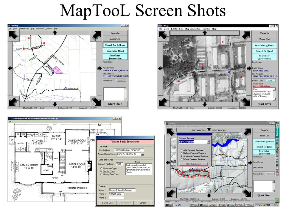 MapTooL Screen Shots