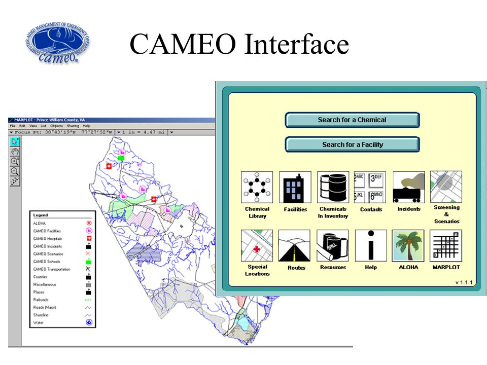 CAMEO Interface