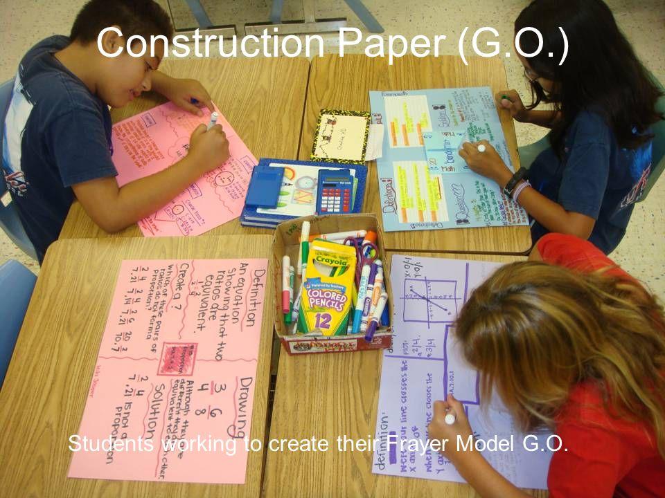 Construction Paper (G.O.)