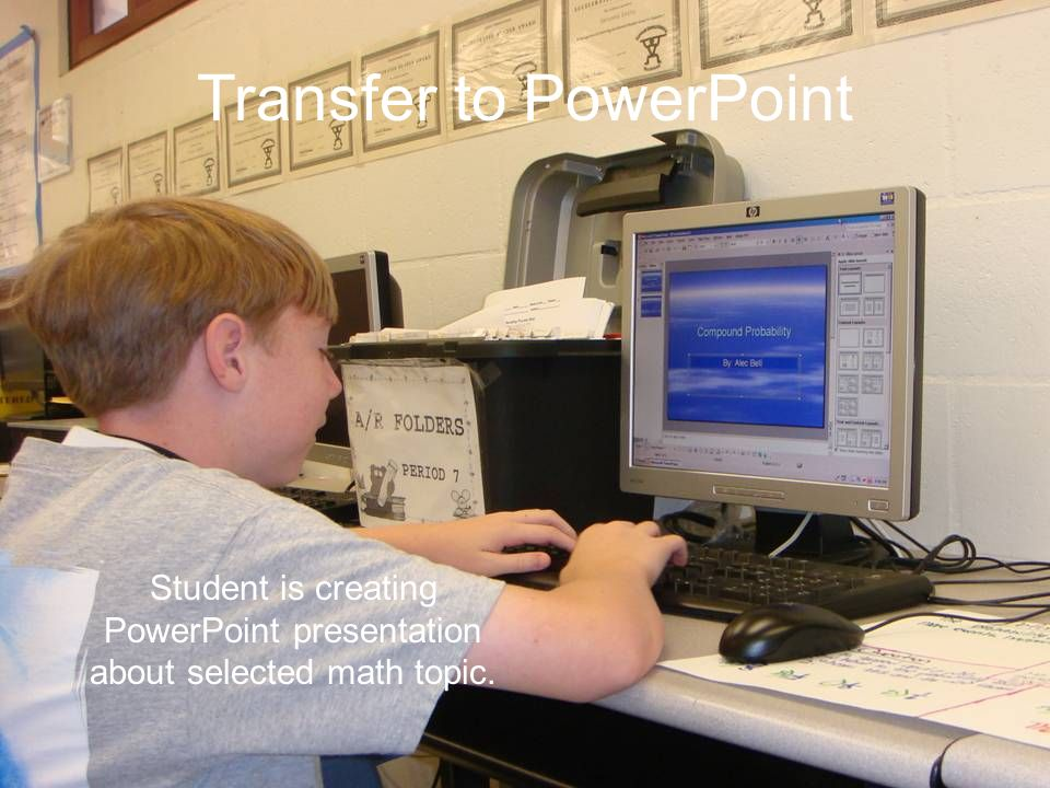 Transfer to PowerPoint