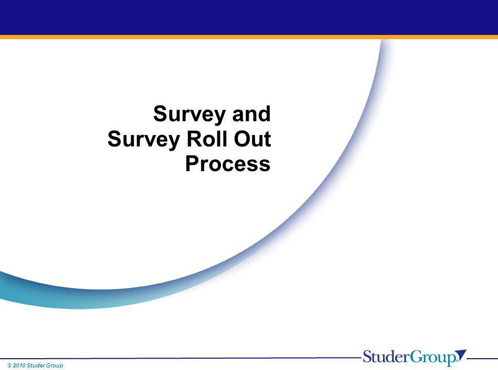 Survey and Survey Roll Out Process