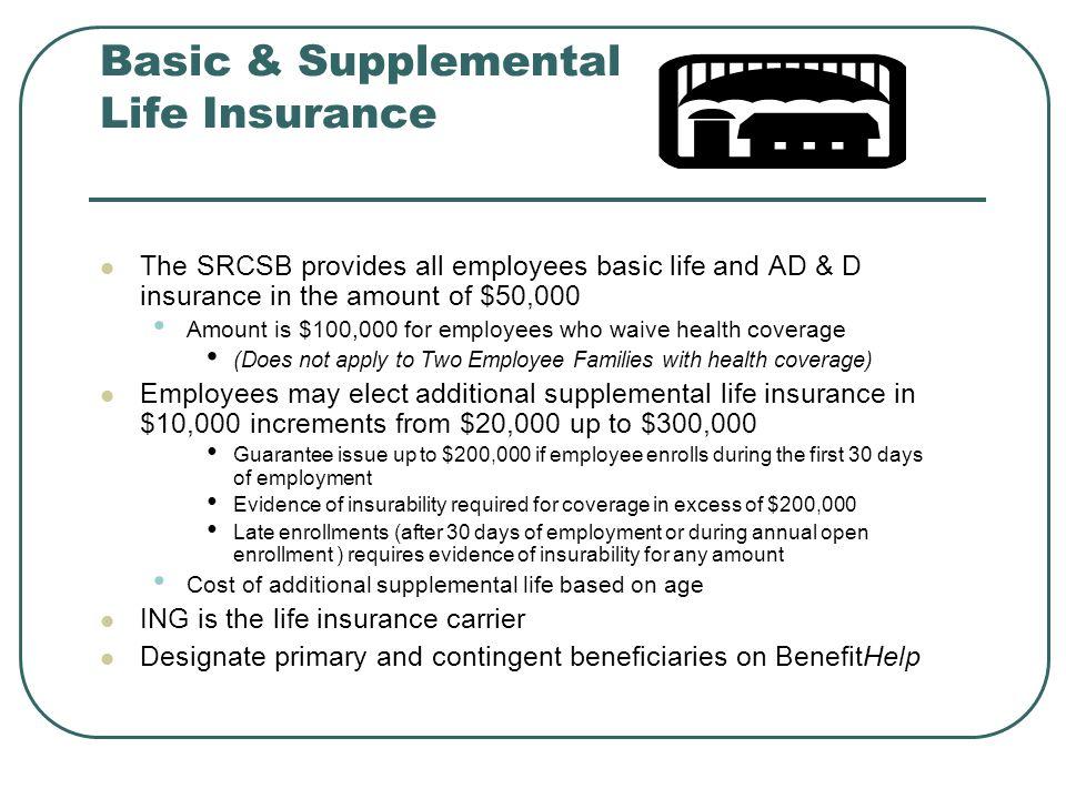 Basic & Supplemental Life Insurance
