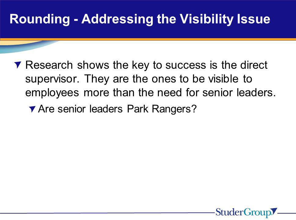 Rounding - Addressing the Visibility Issue