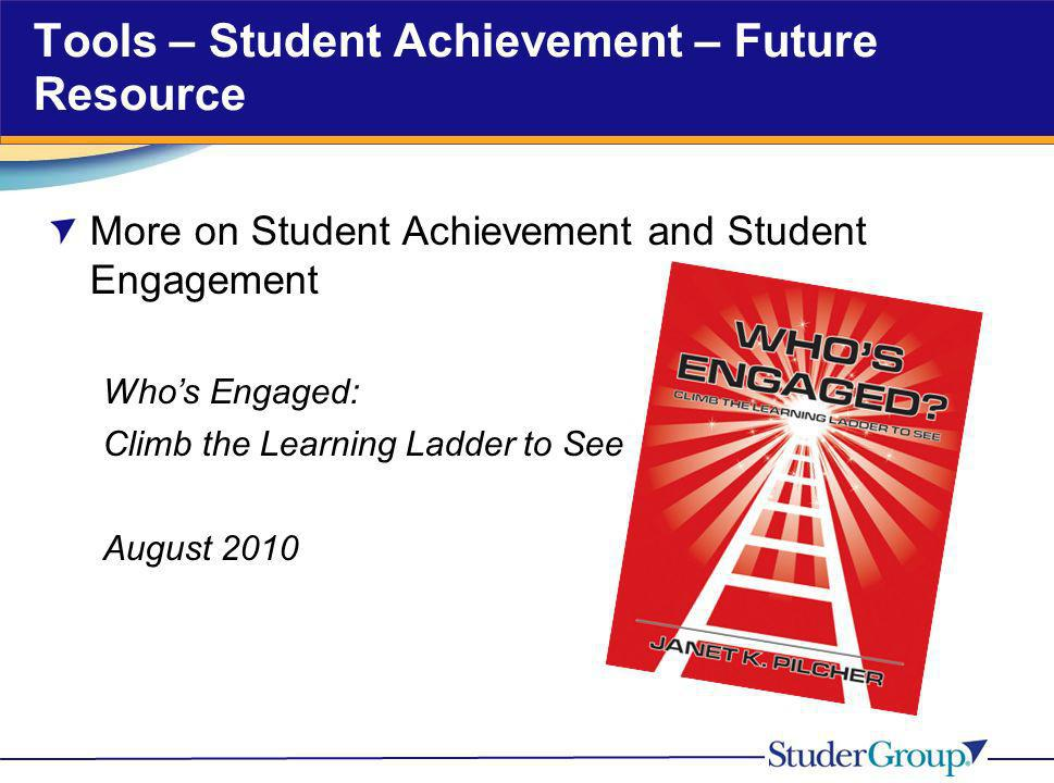 Tools – Student Achievement – Future Resource
