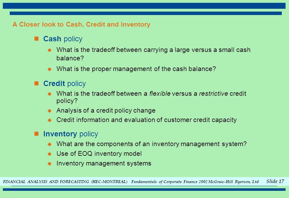 fundamentals of credit and credit analysis pdf