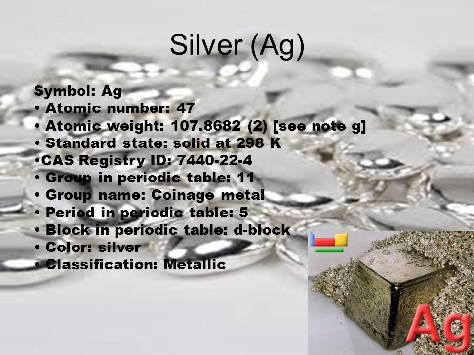 Silver ag periodic table gallery periodic table of elements list silver ag periodic table choice image periodic table of elements list urtaz Image collections