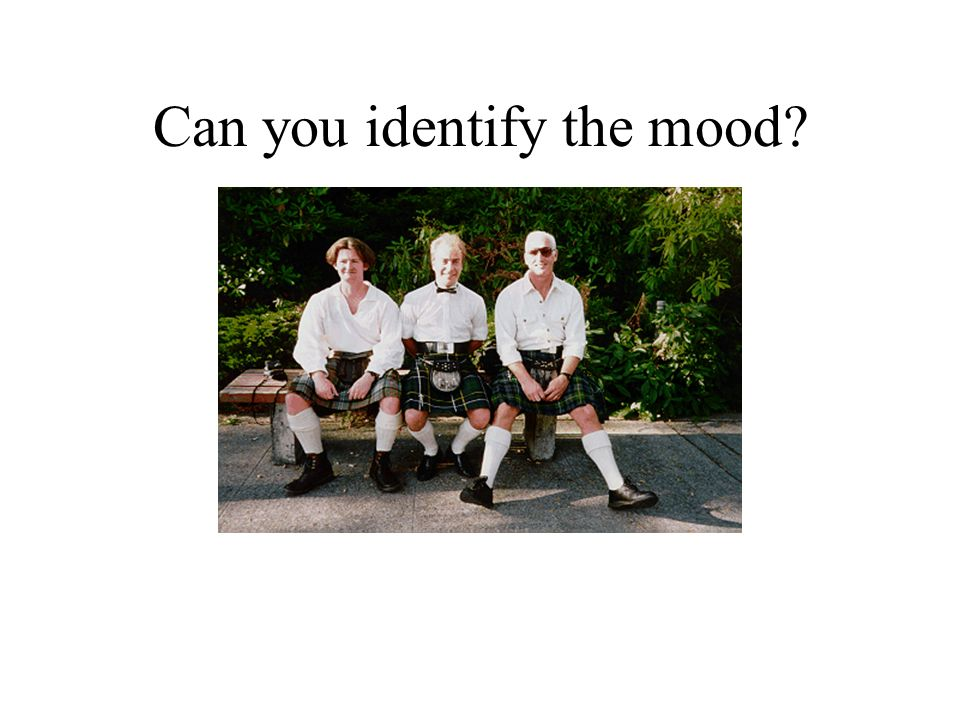 Can you identify the mood
