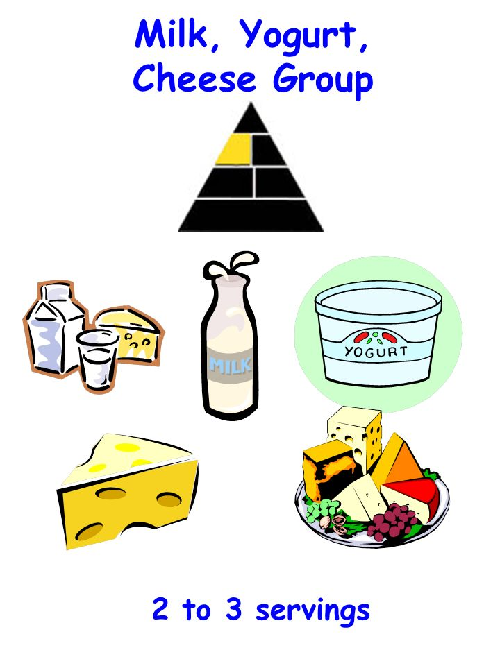 Milk, Yogurt, Cheese Group