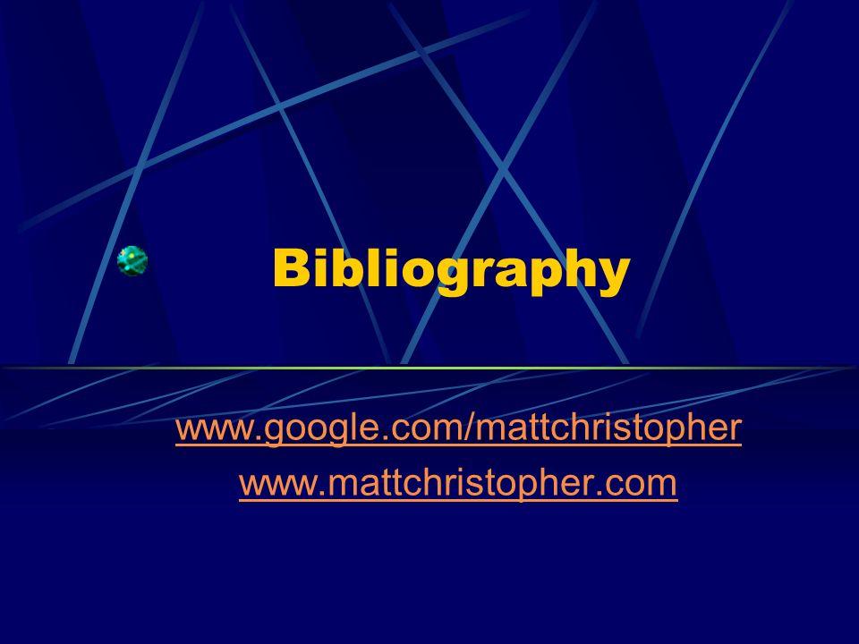 www.google.com/mattchristopher www.mattchristopher.com