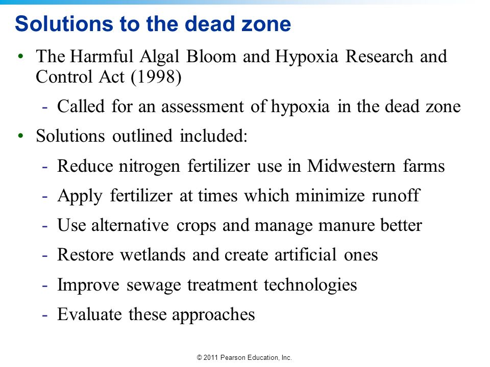 Solutions to the dead zone