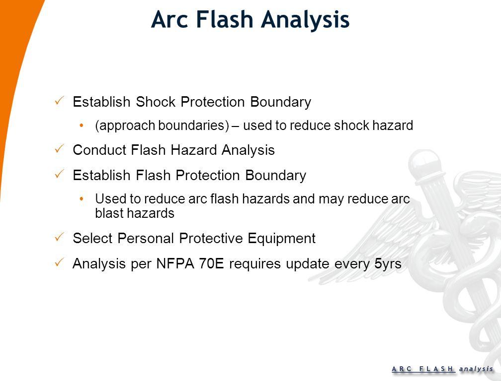 Arc Flash Analysis Establish Shock Protection Boundary