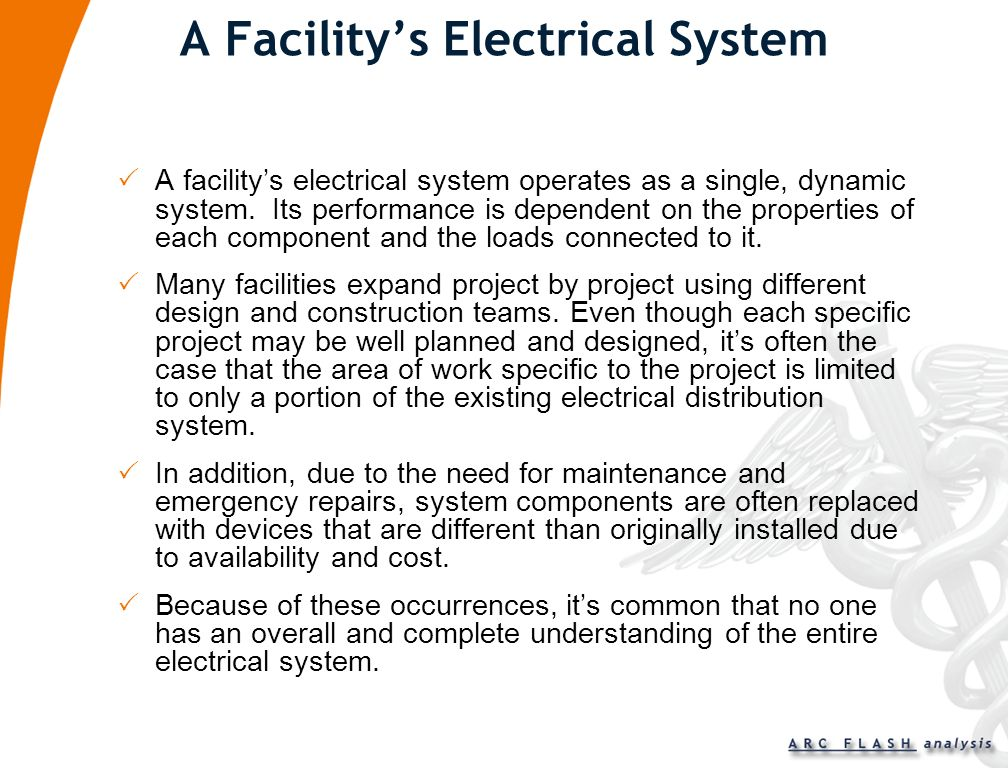 A Facility's Electrical System