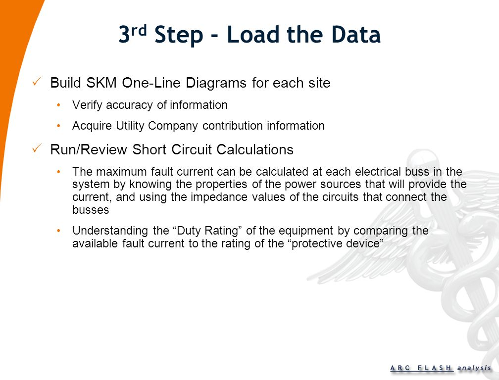 3rd Step - Load the Data Build SKM One-Line Diagrams for each site