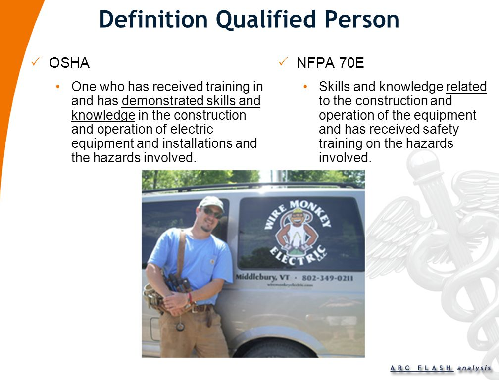 Definition Qualified Person