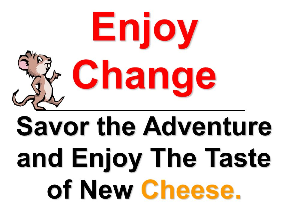 Savor the Adventure and Enjoy The Taste of New Cheese.