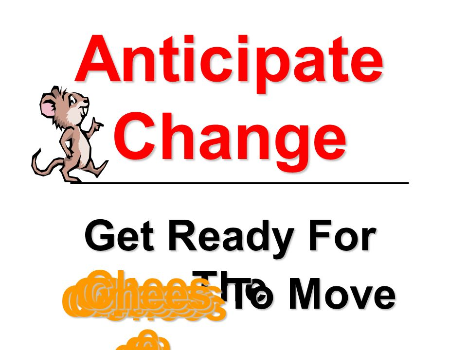 anticipatory change Looking ahead in times of uncertainty: the role of anticipatory justice in an organizational change context jessica b rodell and jason a colquitt.