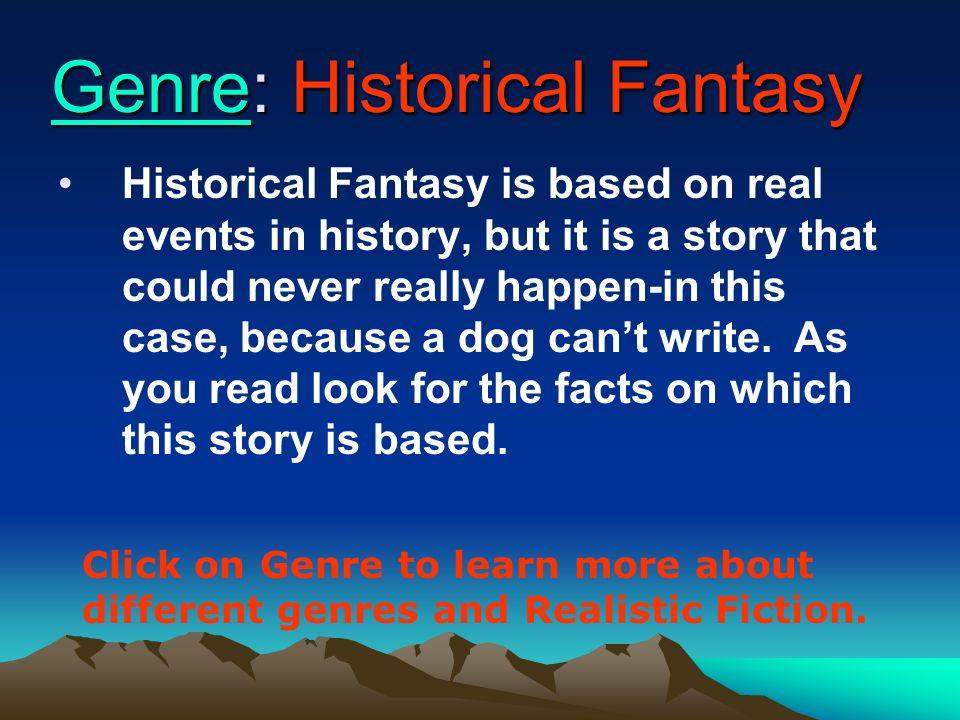 Genre: Historical Fantasy