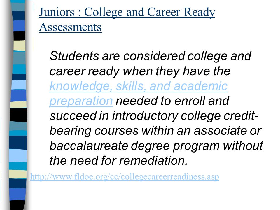 Juniors : College and Career Ready Assessments