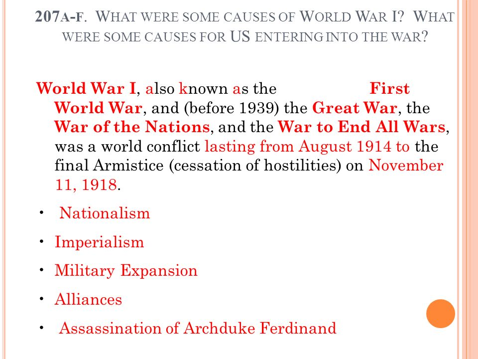 an analysis of world war 2 what were the causes Students will be able to understand the causes of world war ii by analyzing several primary sources (political cartoons, speeches, radio-addresses, charts, graphs, etc.