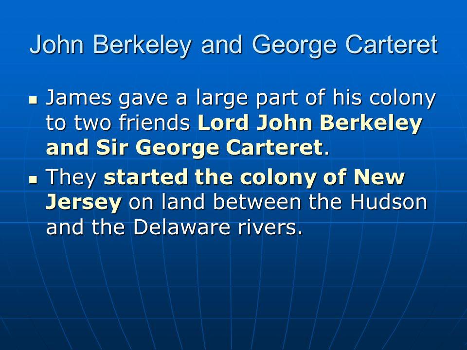 John Berkeley and George Carteret
