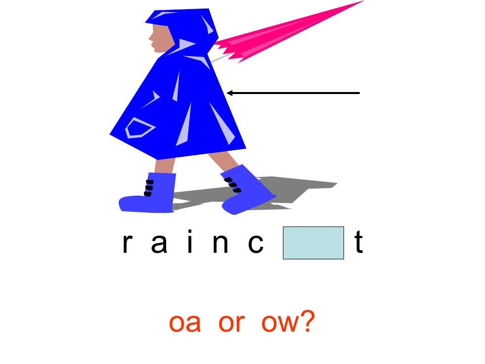r a i n c o a t oa or ow