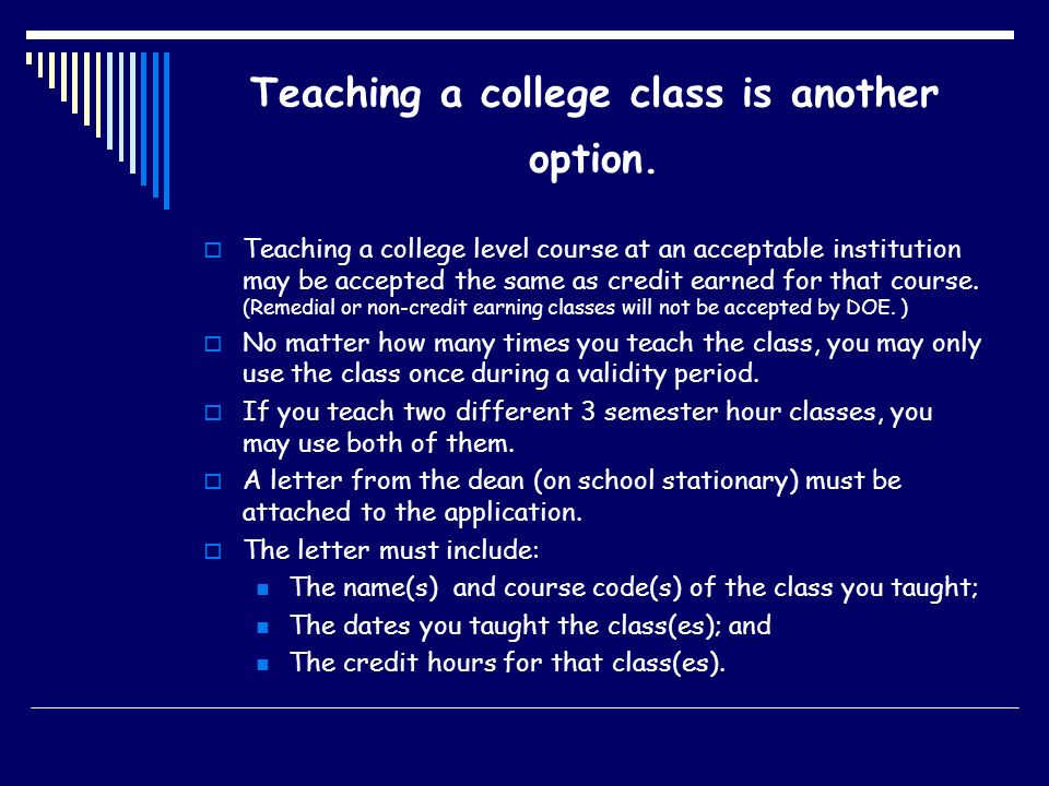 Teaching a college class is another option.
